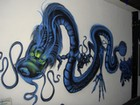 Check out the cool graffiti...opps..artwork