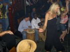 Cool. Jamming music with Congo drums.  Talk about a beat.