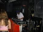 Upstairs DJ Working the floor